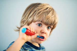 What should I expect during my child's first visit to the children's dentist in Stillwater Ranch?